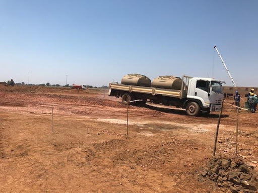 Ext 6 Civil works being processed