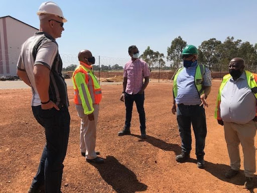 GDE visit to site hosted by Ariobex directors 29 October 2020