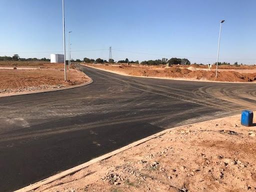Roads in Ext 7 paved with asphalt