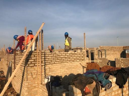Brickwork making great progress at B9